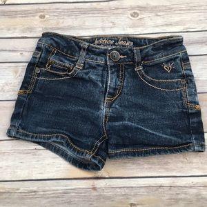Justice Denim Shorts